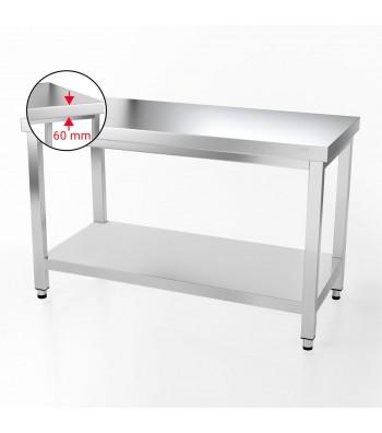 Table Inox - 1400 x 600 mm - Matériel cuisine professionnel