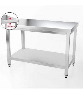 Table Inox - 1200 x 600 mm