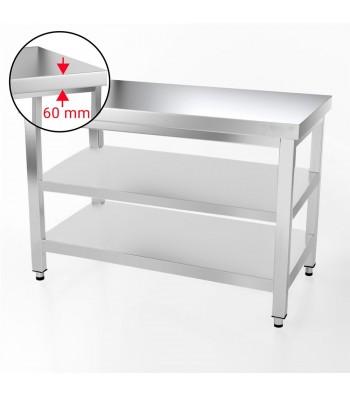 Table Inox - 1200 x 600 mm - Matériel CHR