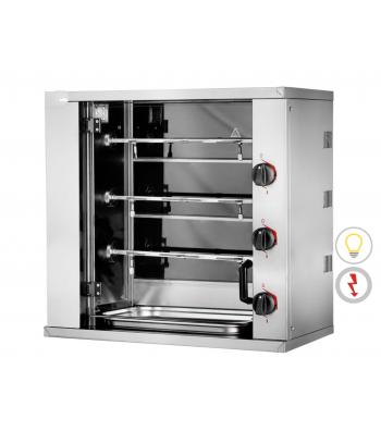 Mini Rôtissoire Electrique - 3 Broches 9 Poulets