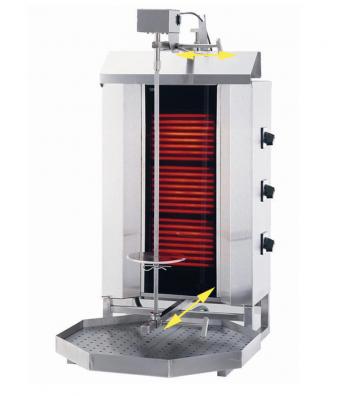 Machine à Kebab Electrique - 40 KG - Matériel cuisine pro